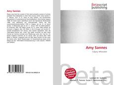 Bookcover of Amy Sannes