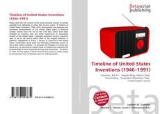 Capa do livro de Timeline of United States Inventions (1946–1991)
