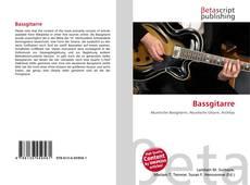 Bookcover of Bassgitarre