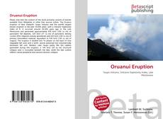 Bookcover of Oruanui Eruption