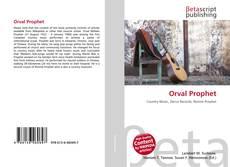Orval Prophet kitap kapağı