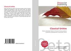Bookcover of Classical Unities