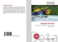 Bookcover of Tatyana Averina