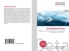 UniverSoul Circus kitap kapağı