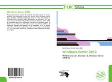 Обложка Windows Server 2012
