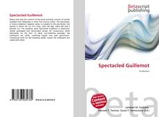 Bookcover of Spectacled Guillemot