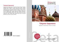 Bookcover of Tatyana Sapunova
