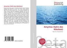 Amyntas (Sohn des Nikolaos) kitap kapağı