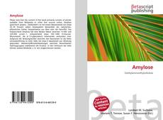 Bookcover of Amylose