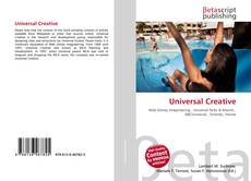 Bookcover of Universal Creative