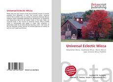 Bookcover of Universal Eclectic Wicca