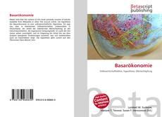 Buchcover von Basarökonomie