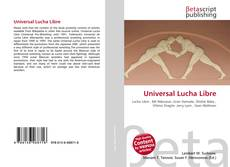 Portada del libro de Universal Lucha Libre