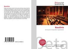 Buchcover von Basslinie
