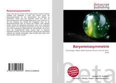 Portada del libro de Baryonenasymmetrie