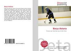 Barys Astana kitap kapağı