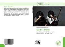 Portada del libro de Marta Canales