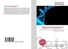 Bookcover of Glycine Transporter 1