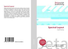 Bookcover of Spectral Layout