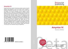 Bookcover of Amyntas IV.