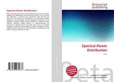Обложка Spectral Power Distribution