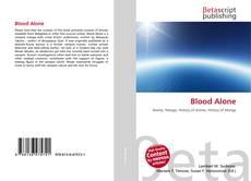 Capa do livro de Blood Alone