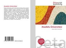 Bookcover of Anadolu Üniversitesi