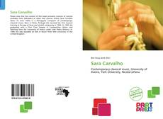 Bookcover of Sara Carvalho