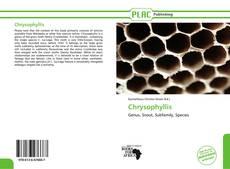 Portada del libro de Chrysophyllis