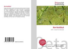 Bookcover of An-Institut