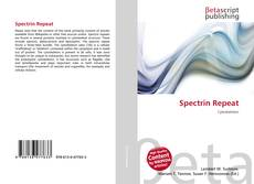 Spectrin Repeat kitap kapağı