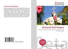 Borítókép a  Universal Sufi Prayers - hoz