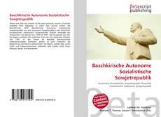 Capa do livro de Baschkirische Autonome Sozialistische Sowjetrepublik