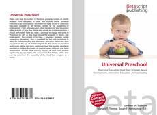 Bookcover of Universal Preschool