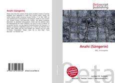 Capa do livro de Anahí (Sängerin)