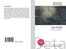 Bookcover of Ana Fonell