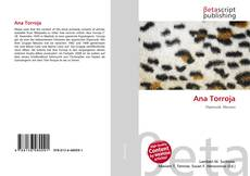 Capa do livro de Ana Torroja