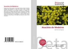 Capa do livro de Anacleto de Medeiros