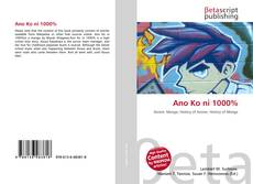 Buchcover von Ano Ko ni 1000%