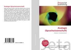 Capa do livro de Analogie (Sprachwissenschaft)