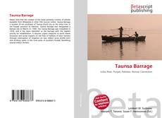 Bookcover of Taunsa Barrage