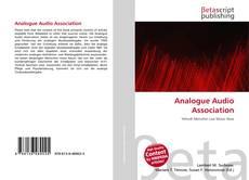 Couverture de Analogue Audio Association