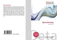 Обложка Speculoscopy
