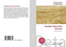 Bookcover of Analytic Hierarchy Process