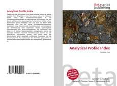 Copertina di Analytical Profile Index