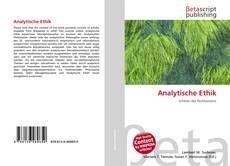 Borítókép a  Analytische Ethik - hoz