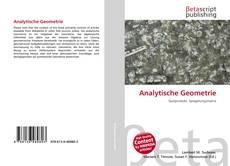 Buchcover von Analytische Geometrie