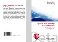 Buchcover von Speech and Hearing Bioscience and Technology