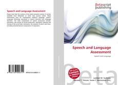 Buchcover von Speech and Language Assessment