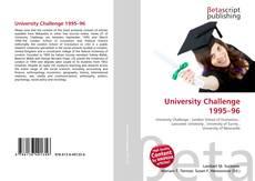 Обложка University Challenge 1995–96